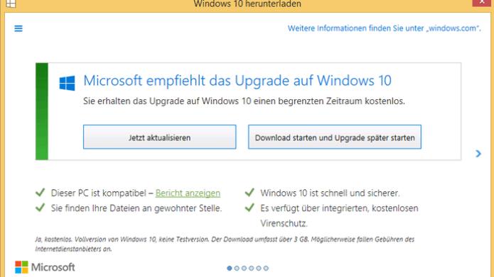 Electronic Frontier Foundation kritisiert Upgrade-Praxis und Datensammelwut von Windows 10