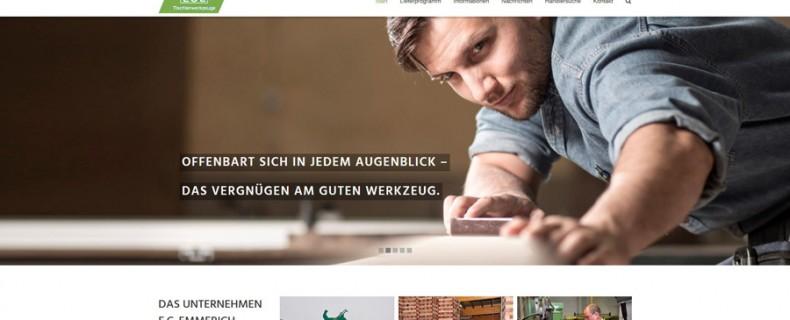 E.C. Emmerich – Tischlerwerkzeuge